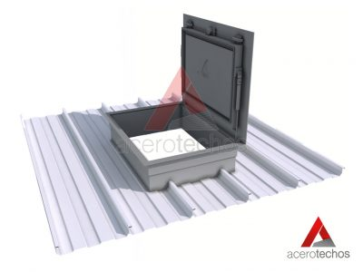 Escotilla para techos metálicos