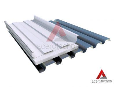 Sistema de Cubierta con Lámina Deck RD-915, Aislamiento EPS y Engargolado KR 18